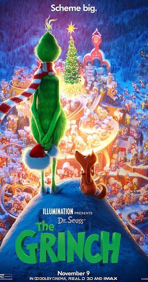 Directed By Yarrow Cheney Scott Mosier With Rashida Jones Benedict Cumberbatch Angela Lansbury Kenan Tho Grinch The Grinch Movie Cute Christmas Wallpaper