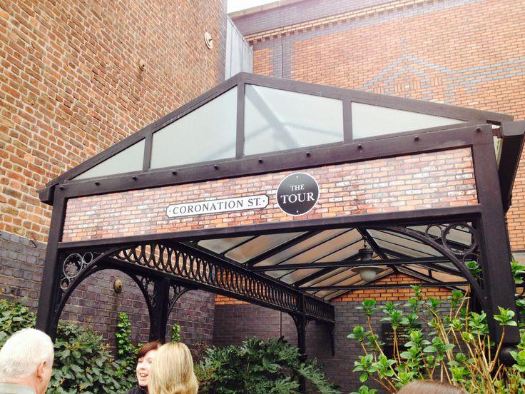 Entrance to the Tour- exciting! #corrie #coronationstreet #itv #set #settour