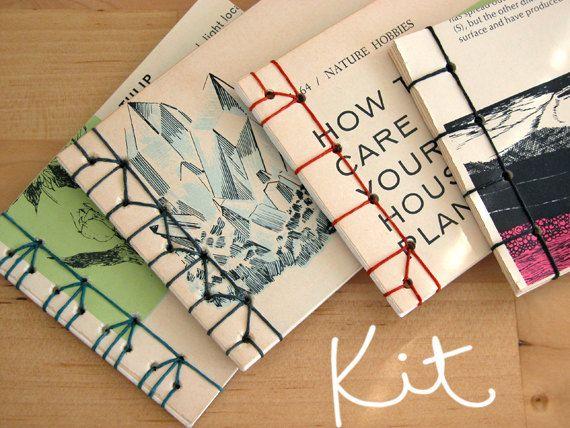 KIT Kit de encuadernación japonesa y Tutorial por erinzam en Etsy, $18.00