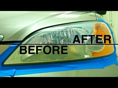 3 Simple Ways to Repair Oxidized Cloudy Headlights with a Headlight Cleaner