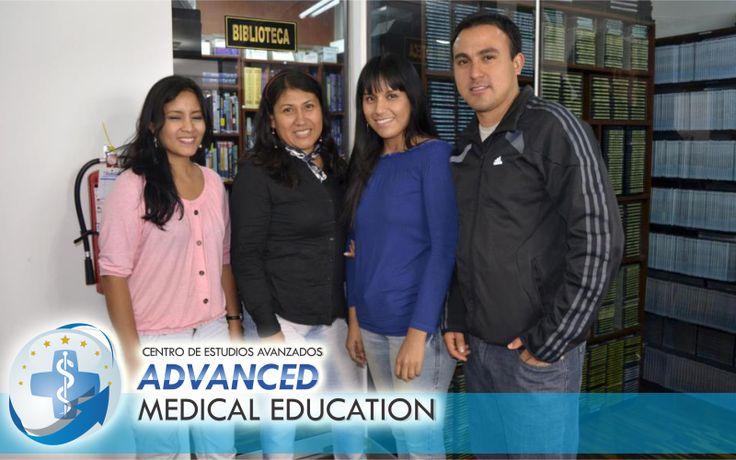 """Biblioteca y Videoteca para los alumnos de Centro de Estudios Avanzados """"Advanced Medical Education"""""""