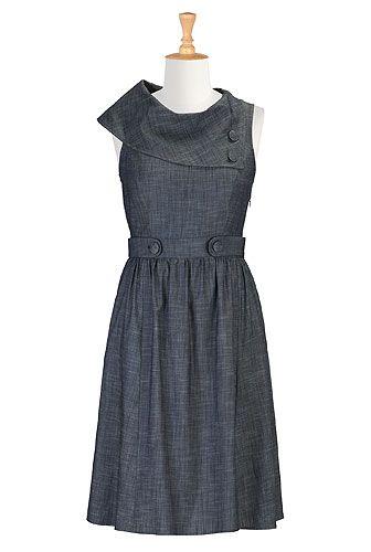 Vintage Inspired Dress , Tall Sizes For Women Shop Women's Full sleeve dresses - Ladies Designer Dresses - Shop Evening Dresses, Casual Dresses & More -   eShakti.com