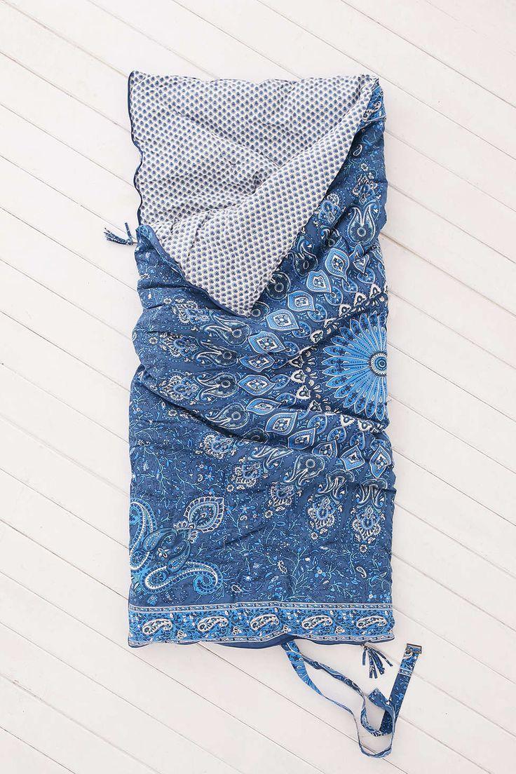 Plum & Bow Goa Medallion Sleep Sack. I never knew sleeping bags could be so pretty.
