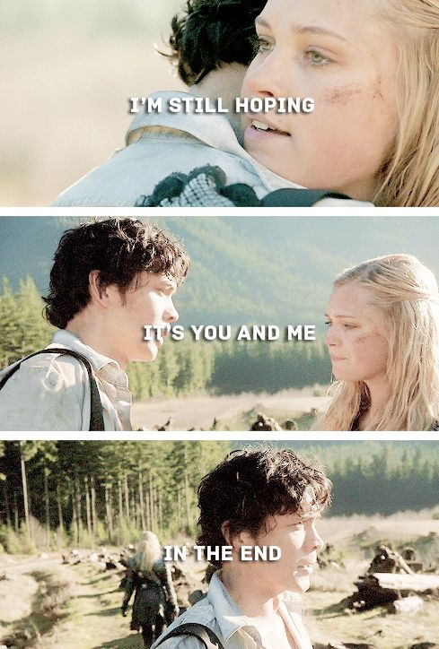 Bellarke - season two finale, so many feels!