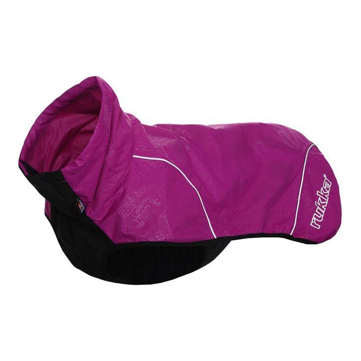 Rukka Hike Sport -sadetakki, violetti