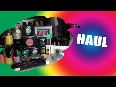 Haul! Makeup and hair stuff! August 2012