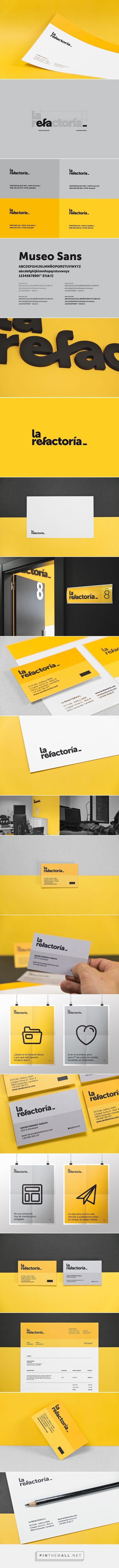 La Refactoría on Behance - created via https://pinthemall.net