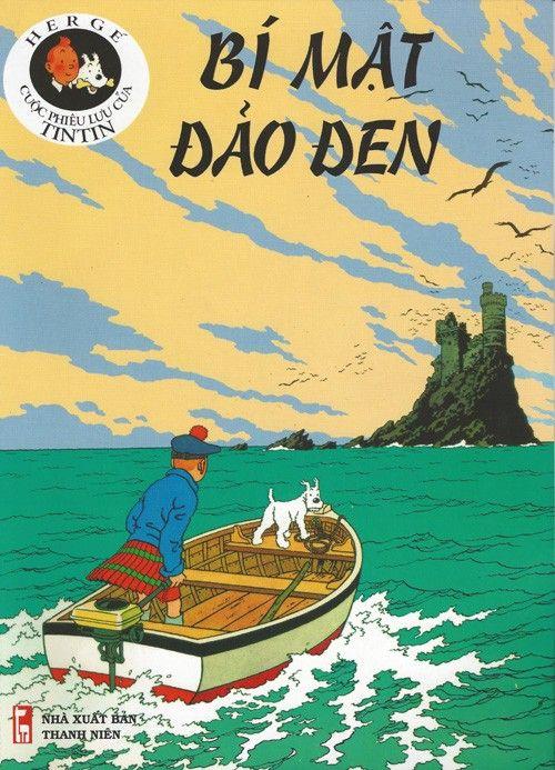 Couverture de Tintin (en langues étrangères) -7Vietnamien- Bí Mật Đảo Đen