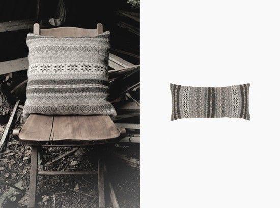 fair isle cushion cover each cushion is limited edition and handmade in scotland via