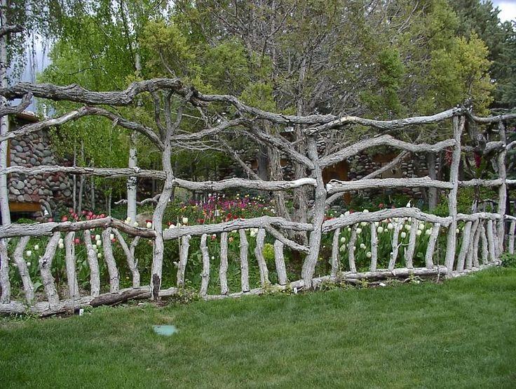 nordic natural fencing deer proof fencing orchard fencing native colorado oak fencing by nordic gardens in