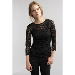 Perfect! The Remly stretch lace top @Velvet.