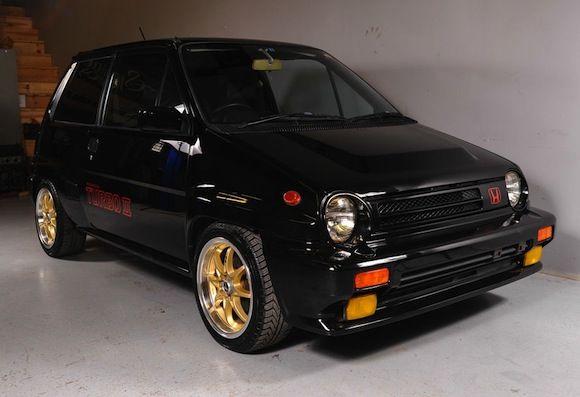 Rare in the USA: 1985 Honda City Turbo II