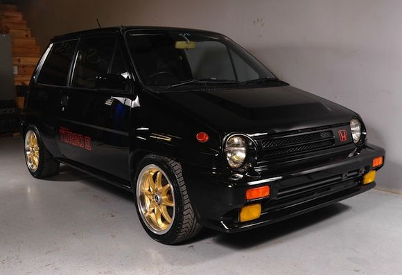 Rare in the USA: 1985 Honda City Turbo II