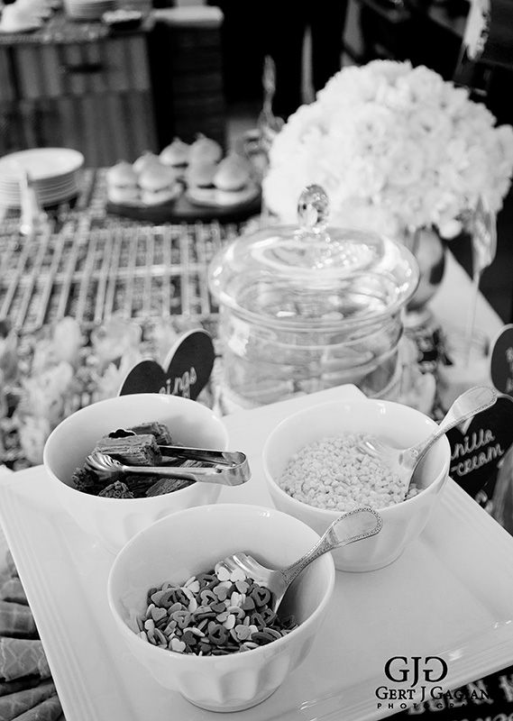 Kitchen Tea details at 2 Sisters. Sprinkles for the ice cream cones. #kitchentea #party #event #detail #photography #gertjgagiano