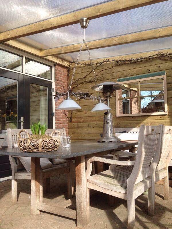 1000 images about mooi voor de tuin on pinterest verandas tuin and met - Interieur van een veranda ...