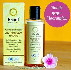 Khadi Haaröl gegen Haarausfall im Test. Wirkt mit ausschliesslich natürlichen Inhaltsstoffen gegen Haarausfall. Die Haare schneller wachsen lassen mit dem Öl