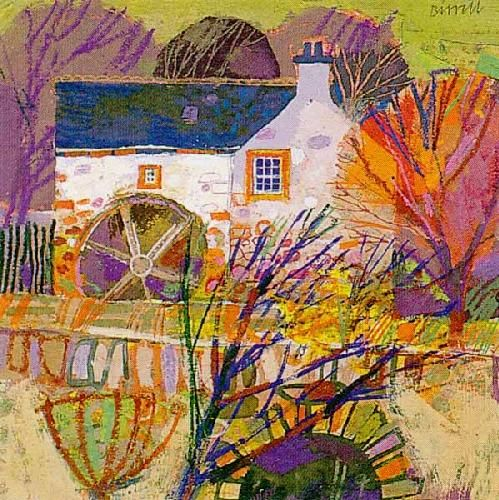 Autumn Garden by George Birrell - art print from King & McGaw