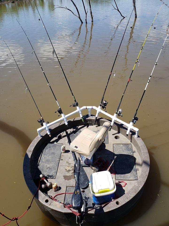 Here is a cool spider rig setup for catfishing or crappie