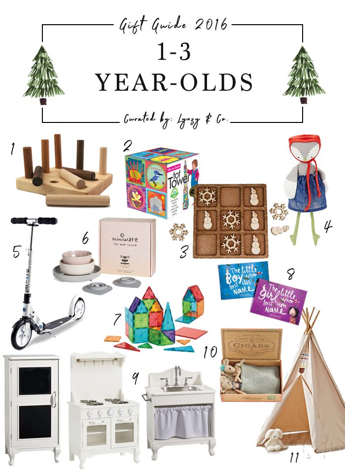Holiday Gift Guide: 1-3 Year Olds