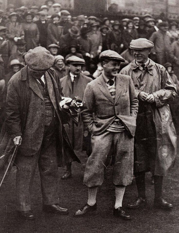 Vintage golfing style from the Prince of Wales circa 1925. Image via Library of Congress