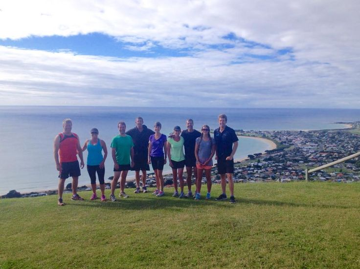Cody Perkins on Facebook shared this great picture of his morning workout with an incredible backdrop. #apollobay #big4apollobaypiscespark