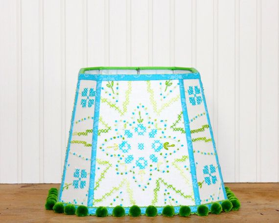 Best 25+ Turquoise lamp shade ideas on Pinterest   Ribbon ...