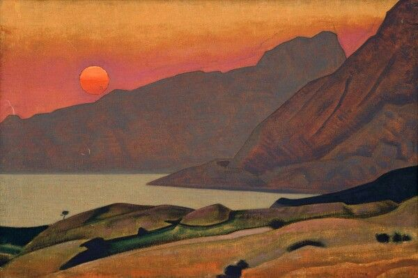 """Mohegan , Maine""  from Ocean series 1922"
