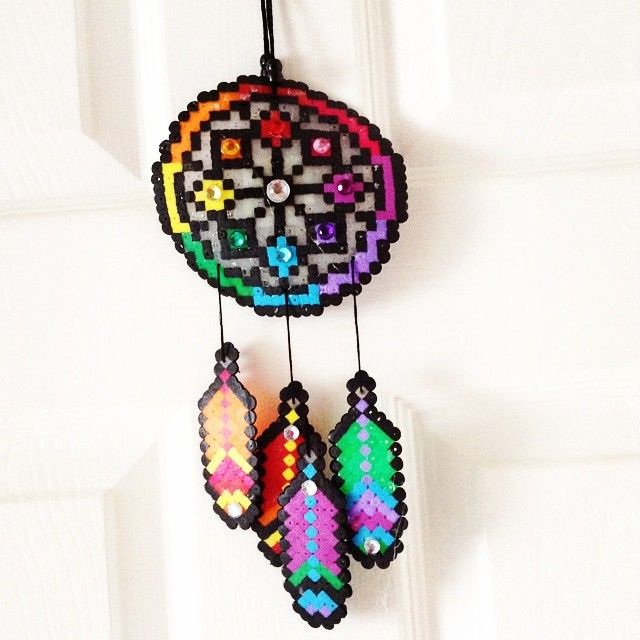 17 best images about perler beads on pinterest perler for Dreamcatcher beads meaning