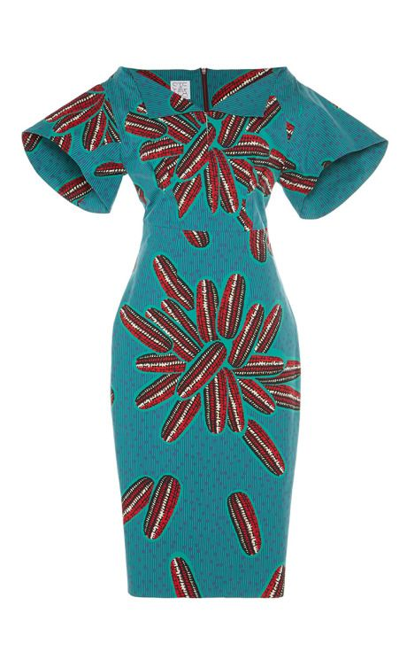 Mandrillo Dress by Stella Jean for Preorder on Moda Operandi