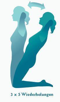 Blasenschwäche bei Frauen nach der Geburt - Beckenboden-Übungen - Beckenbodengymnastik
