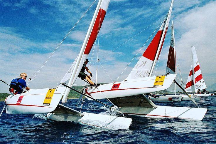 TOPCAT - RACE  #topcatsailing #catamaran #gopro #nextgeneration #sail #sailing #sailingextreme #ocean #sea #regatta #watersport #fun #speed #katamaran #segeln #photooftheday #awesome #instasail #cruising #boat #picoftheday #view #season #italy #handmade #production #summer #sailboat #emotion #boat #water by topcatsailing