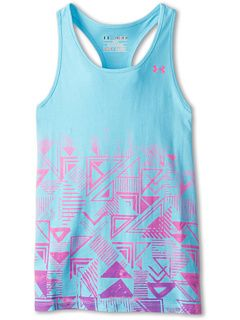 Under Armour Kids UA Branded Graphic Tank (Big Kids)