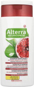 Alterra, szampon nawilżający do włosów suchych i zniszczonych, Bio-owoc Granatu i Bio Aloes, 200 ml, nr.kat. 132018 - Internetowa drogeria Rossmann - Zakupy online