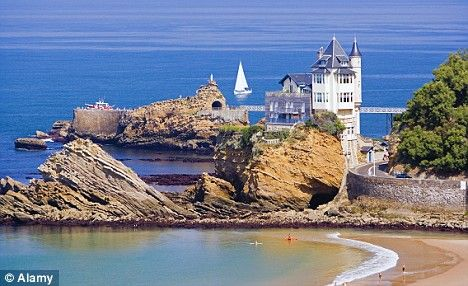 Biarritz is only 22km from Spain. This is Basque country, where students learn…