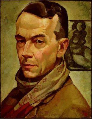 Edwin Holgate , self portrait