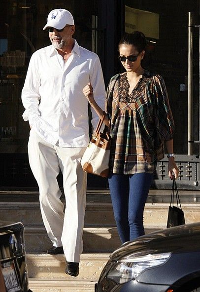 Bruce Willis - Bruce Willis And Emma Heming Shopping At Barney's New York