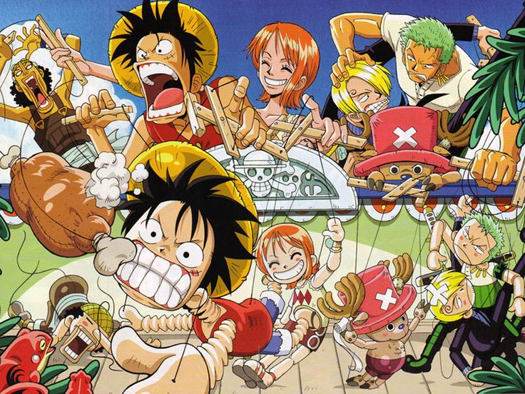 One Piece All Characters Anime Wallpapers http://designhey.com/one-piece-all-characters-anime-wallpapers/