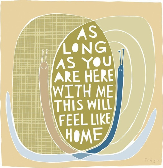 Home: Snails, Art Prints, Art Design, Home Art, Heart Words, Fine Art, Freya Art, You Are Here, Freyaart