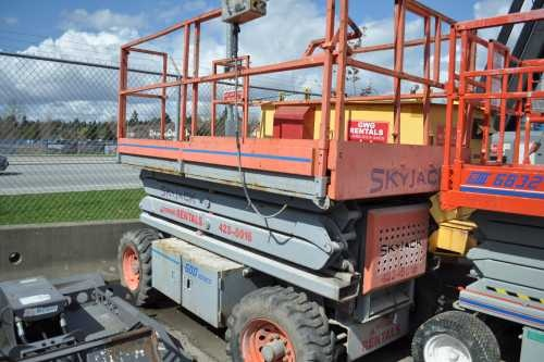 Used Scissor Lifts for Sale;  In the market for used scissor lifts? Find electric scissor lifts and rough terrain scissors at contractorassets.com.  If you are looking to sell a used scissor lift, classified listings are free. Join us.