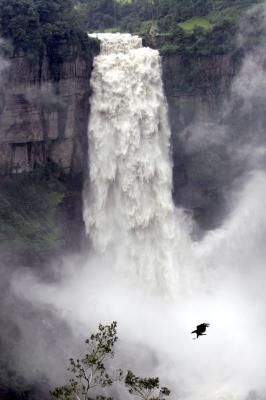 Tequendama Falls Columbia South America