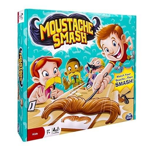 Spin-Master-Games-Moustache-Smash-Play-with-Friends-Best-Gift-NEW-Brand-ages-7