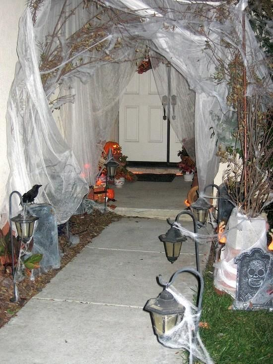 334 best holidays images on Pinterest Halloween decorations - outdoor halloween ideas