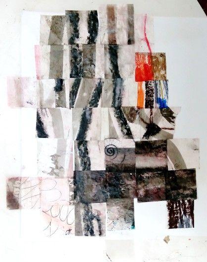 Monocrome collage