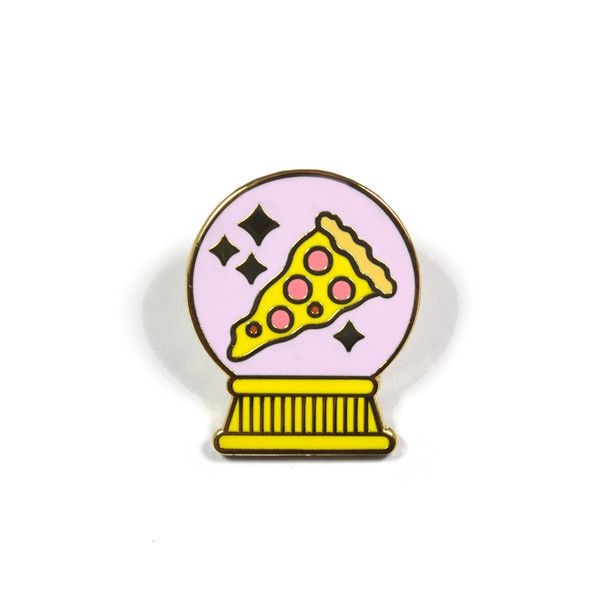 I See Pizza in Your Future Lapel Pin