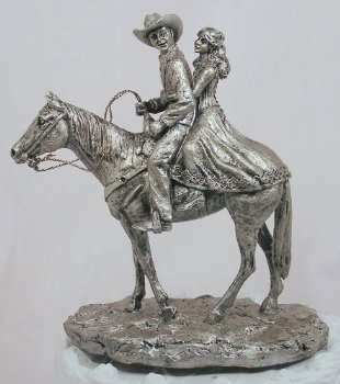 Happy Trails Western Cake Topper