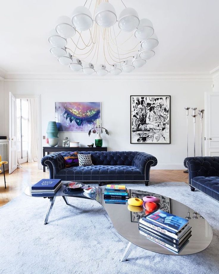 Interior designer Sandra Benhamou recently completed this chic #apartment situated in #Paris #France