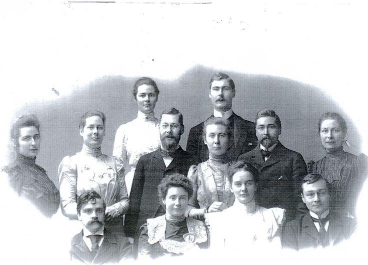 The children of Jan Boissevain and Nella Brugmans, 1902