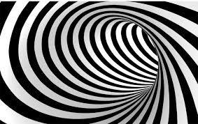 Resultado de imagen de arte abstracto blanco y negro