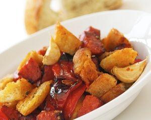 Migas and chorizo recipe