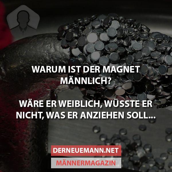 Warum ist der Magnet ... #derneuemann #humor #lustig #spaß